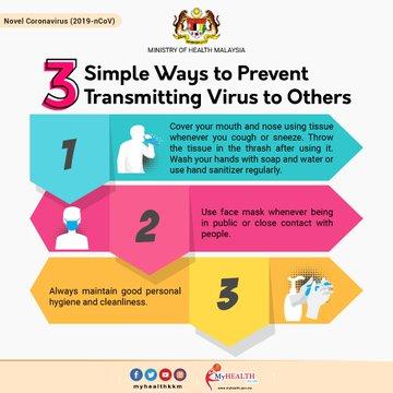SITUASI TERKINI: 3 Lagi Positif Coronavirus di Malaysia