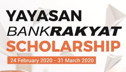 Permohonan Biasiswa Yayasan Bank Rakyat 2020 Online